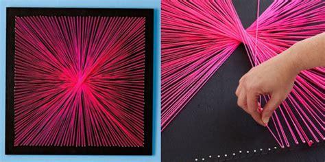 como hacer un cuadro de fotos cuadros de hilo tutoriales y consejos para string art