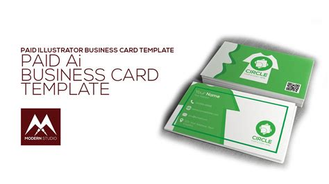 business card template illustrator youtube