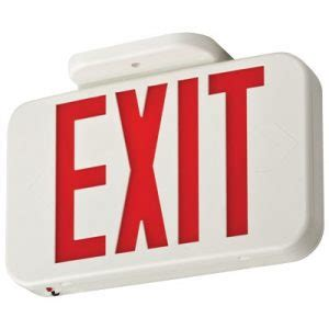 Knowledge Test Exit Mba by Emergency Exit Sign Archives Steiner Electric Company