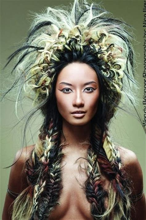navajo braid large native american inspired style with fishtail braids