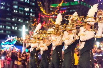 marching band will show the way at annual parade of lights
