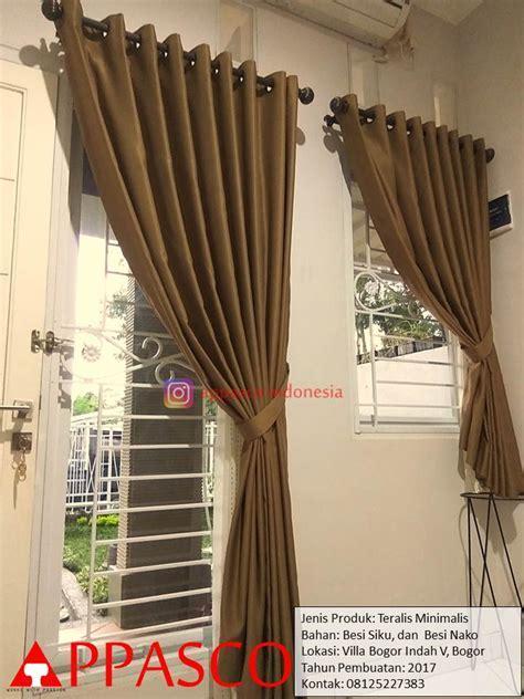 Teralis Besi Nako di Villa Bogor Indah   Jual Kanopi Tralis