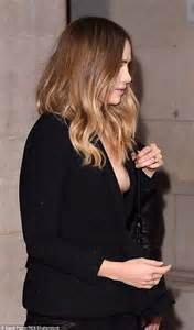 Almost Slip On suki waterhouse almost suffers nip slip in blazer at vogue