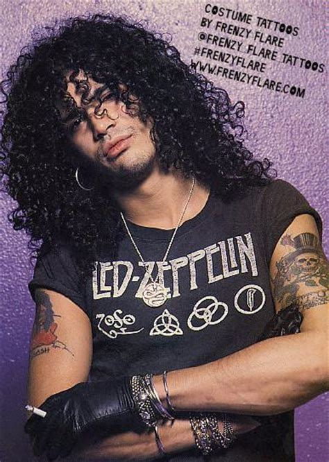 slash temporary tattoos guns n roses frenzy flare