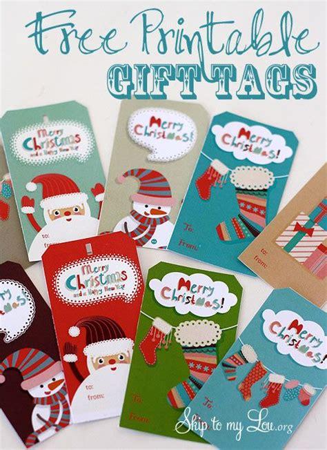 cute free printable christmas gift tags 175 free printable christmas gift tags unoriginal mom