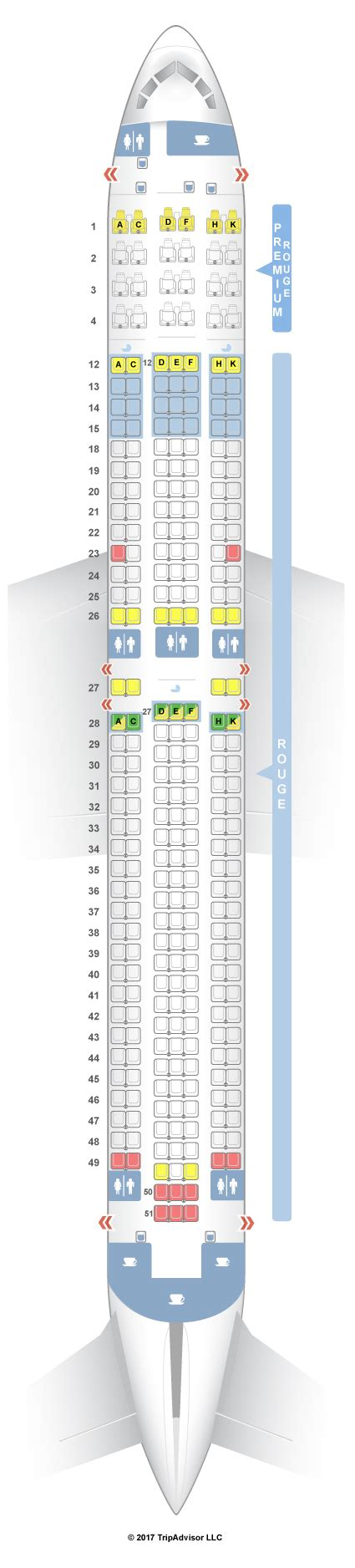 Seat Map Boeing Air Canada by Seatguru Seat Map Air Canada Boeing 767 300er 763 Rouge