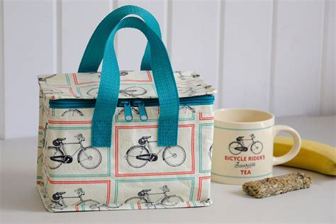 Lunch Bag Foil Slempang Karakter bicycle riders foil lined lunch bag cyclemiles