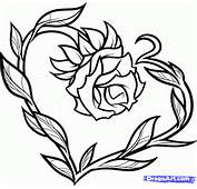 How To Draw Tattoo Love Step 9