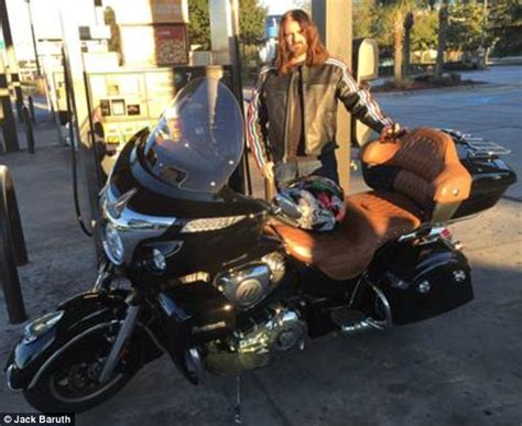 long hairstyles for a biker man biker with long hair warns women of the dangers of sexist