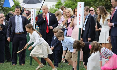first white house easter egg roll melania trump kicks off 139th white house easter egg roll