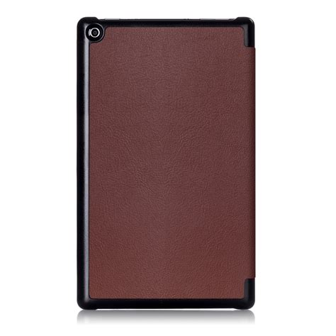 Cover For Hd 8 luxury smart leather stand protective cover for new hd 8 2017 ebay