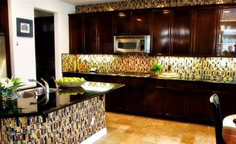 tiled kitchen island tiled backsplash to match island furniture ideas