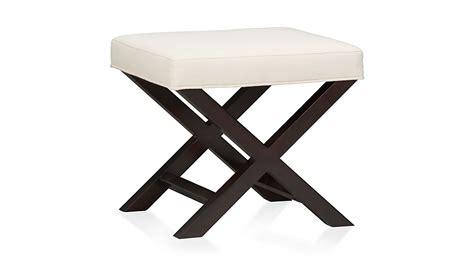 X Base Bench Stool x base bench vanity stool napa crate and barrel