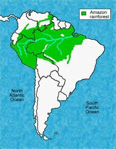 south america rainforest map 17 best images about south america on south