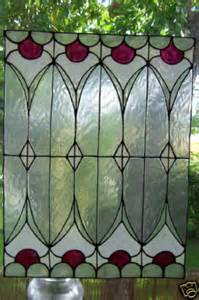 Faux Stained Glass Window Clings Photos