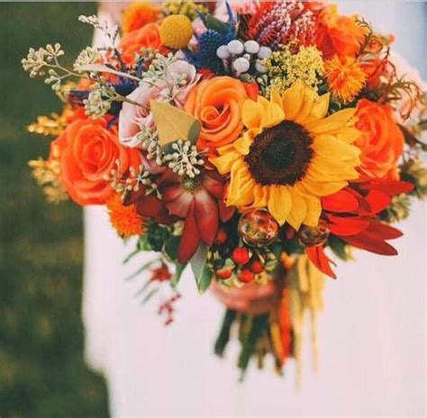 Wedding Bouquet Autumn by 50 Fall Wedding Bouquets For Autumn Brides Autumn