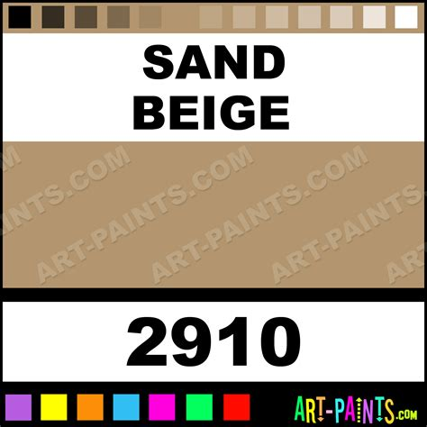 sand beige car and truck enamel spray paints 2910 sand beige paint sand beige color model
