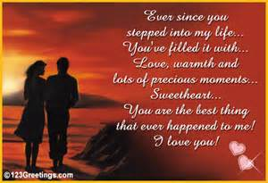 Romantic love i love you picture and quotes