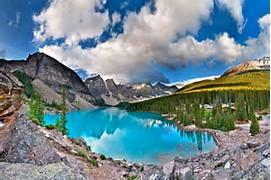 Lake Banff Alberta Canada