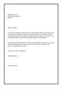 Basic cover letter sample for job application software tester