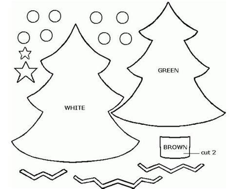 arbol de navidad moldes moldes para hacer arbolitos de navidad en fieltro