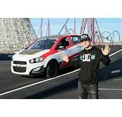 Rob Dyrdek Cars Sets Reverse Car Jump Record In Chevy Sonic