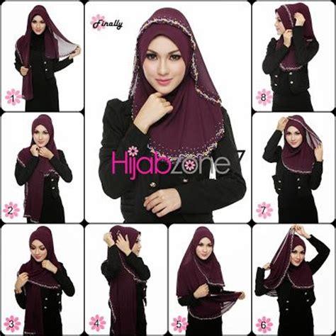 tutorial halfmoon qaira hijab hijabzone7 tudung or hijab online malaysia tutorial