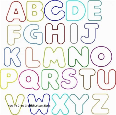 How To Draw Letters