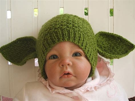 knit yoda hat pattern the yoda baby hat wear or wear not bit rebels