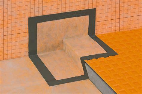 schluter kerdi kers waterproofing shower system