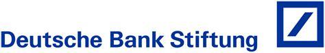 deutsche bank de datei deutsche bank stiftung logo svg