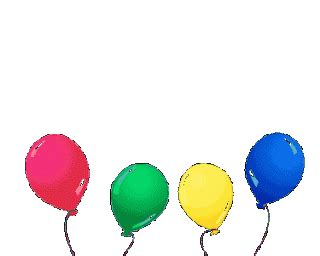 Lilin Happy Birthday Glitter collection of animated balloons gif images for happy