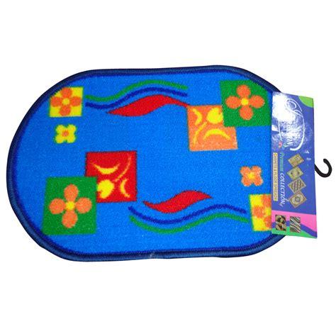 colorful door mat with anti skid backing imp mat 031
