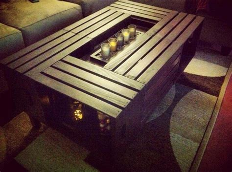 How To Make Crate Coffee Table How To Build A Crate Coffee Table Diy Projects For Everyone