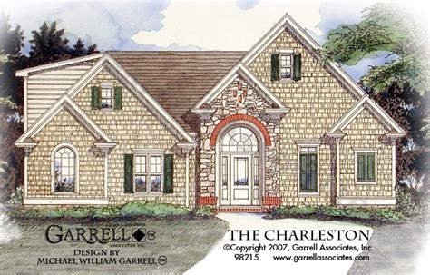 charleston house plans charleston house plan house plans by garrell associates inc