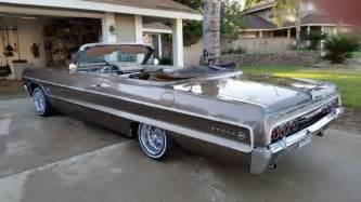 1964 chevy impala convertible for sale photos technical