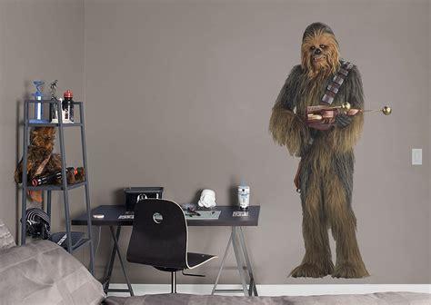 chewbacca wall decal shop fathead  star wars movies