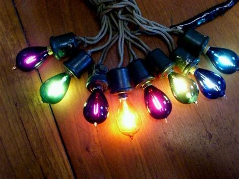 the invention of christmas lights
