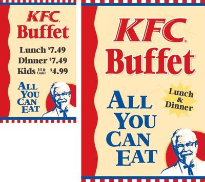 Kfc All You Can Eat Buffet Kfc Buffets Bad Food Even More Bad The Decline