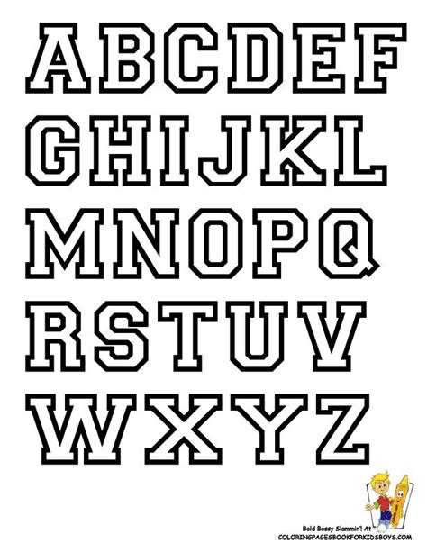 College Block Letter Font 7 best projects to try images on alphabet