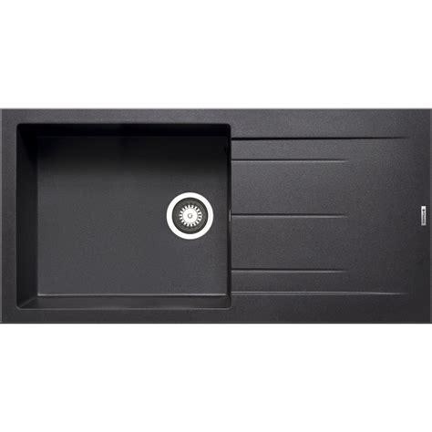 Evier 1 Bac Noir by Evier 224 Encastrer Granit Et R 233 Sine Noir Alazia 1 Grand