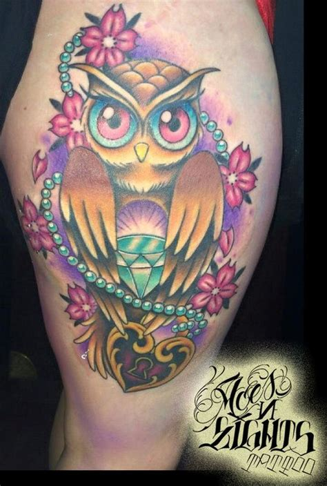 aces and eights tattoo design ali from aces and eights in lakewood wa owl with