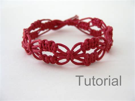 How To Do Macrame Bracelets - macrame bracelet pattern lacy macrame bracelet