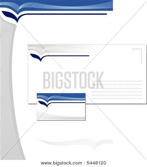 business card letterhead envelope vector corporate identity template vector image cg5p448120c
