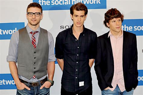 the social cast andrew garfield fan the social network cast to be