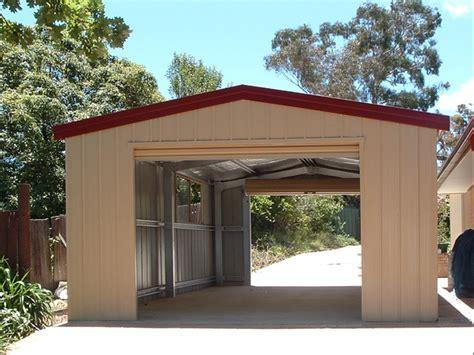 single garage single garage fair dinkum sheds