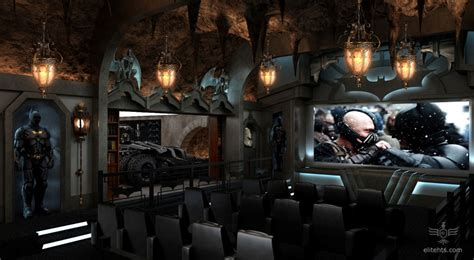 Bat Cave Bedroom by Themed Home Theater Every S Batcave Come True