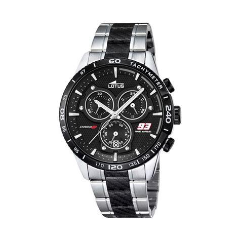 Jam Tangan Marc Silver jual lotus s marc marquez chrono gp lot l18258 4 jam tangan pria silver black