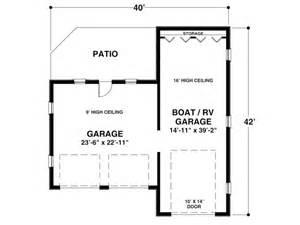 Rv Storage Plans by Boat Storage Garage Plan Boat Storage Or Rv Garage