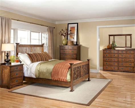 oak bedroom set intercon bedroom set oak park in op br 5825set